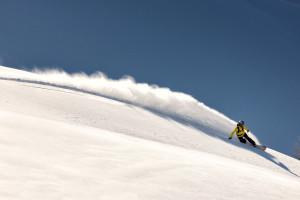 Snowboarder Sigi Grabner