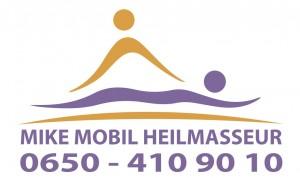 Mike Mobil logo lila